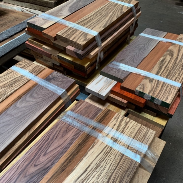 Variety Lumber Pack: SHIPPING INCLUDED! | Tropical Exotic Hardwoods