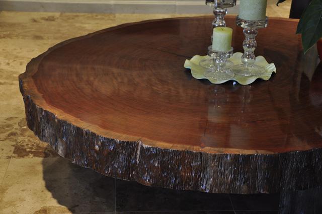 Bubinga Slab #8 Round | Tropical Exotic Hardwoods