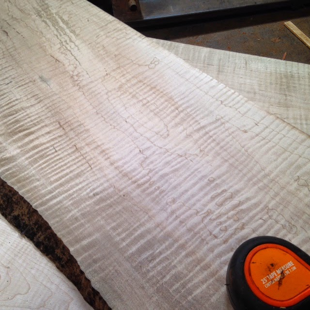 Curly Maple Wood Flooring: 5/4 Curly Maple Lumber /bf Price