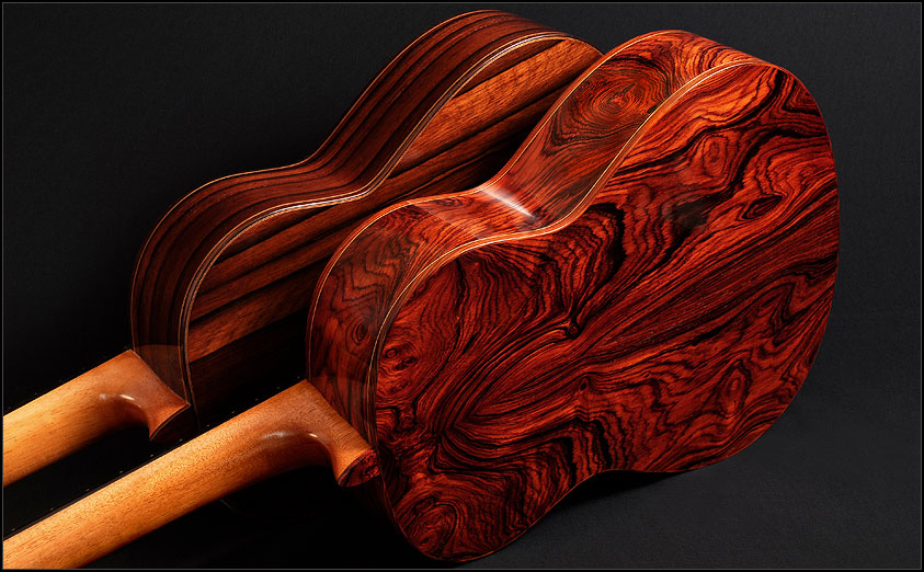 Cocobolo Flamenco Guitars By Daniel Turner Tropical