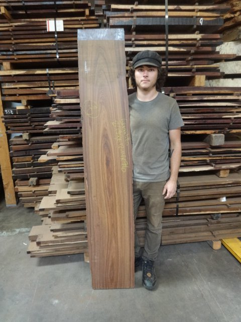 Granadillo Slab 8 Tropical Exotic Hardwoods