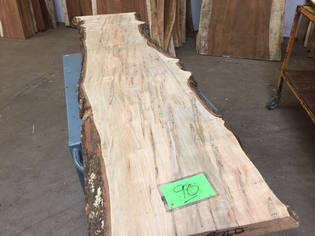 Ambrosia Maple Slab 90 Tropical Exotic Hardwoods