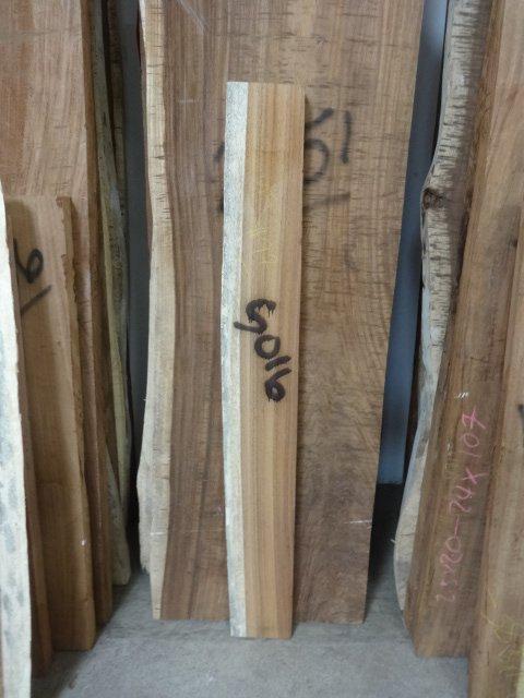 Parota slab 5016 one live edge tropical exotic hardwoods for Finished wood slabs