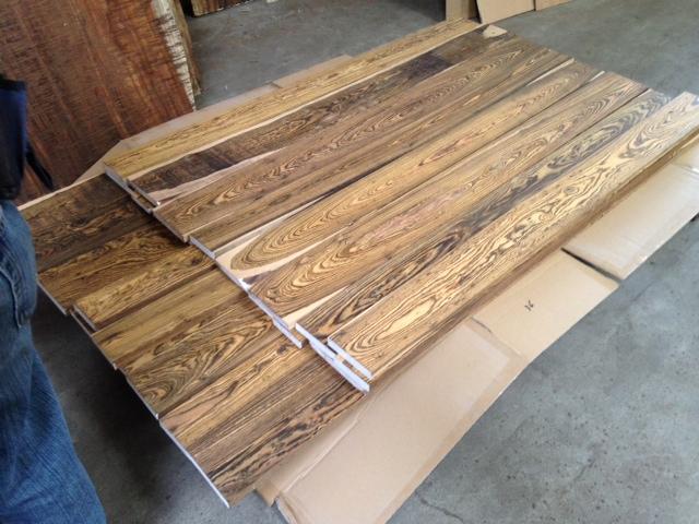 Bocote Lumber Highly Figured Lbhf51